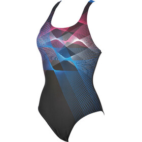 arena Sprite One Piece Swimsuit Women black-pix blue